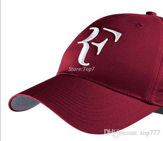 415f3152087 New 2016 Limited Edition Newest Men And Women Roger Federer RF Hybrid Hat    Tennis Racket Hat Cap Tennis Racquet The Game Hats Baby Caps From Top777