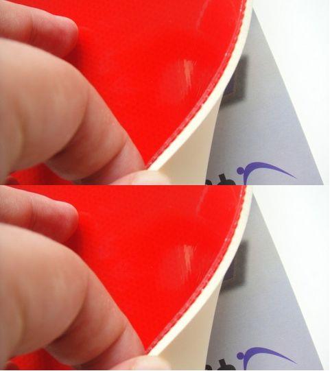 Gomma da ping pong in gomma da tennis di alta qualità Yasaka Soft 7 lama / pipistrello / piastra di base