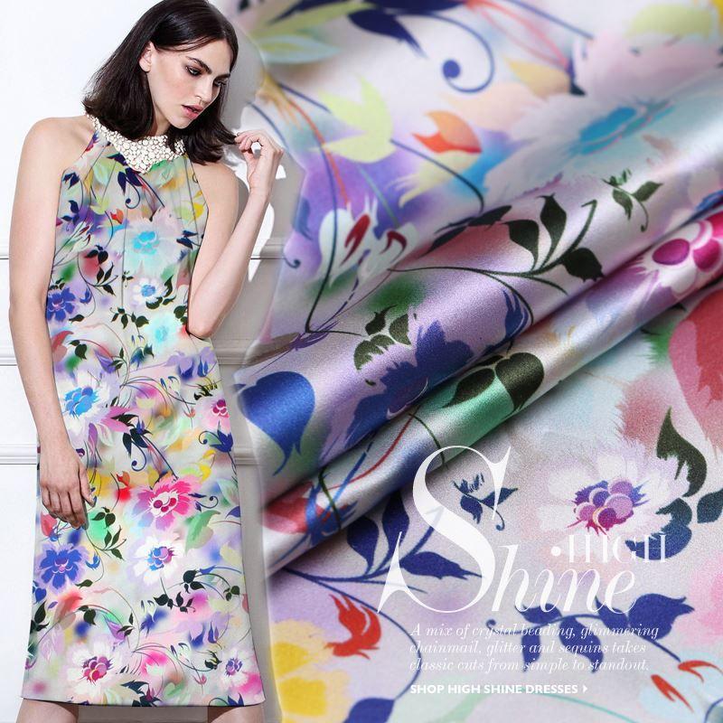 Fashion dresses 2018 wholesale fabric
