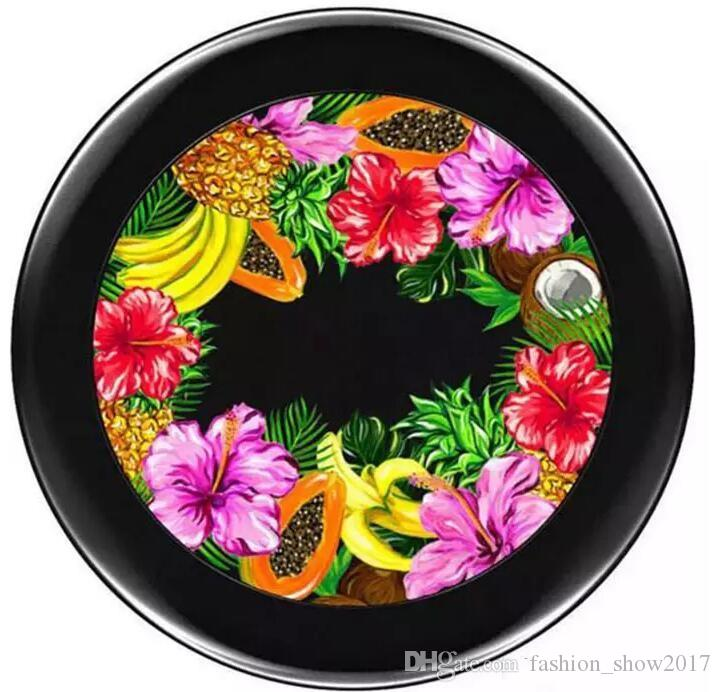 Yeni Sıcak Marka Makyaj Meyveli Sulu Iki Toz Çift Toz Karışık Renkler Meyveli Sulu Yüz Tozu