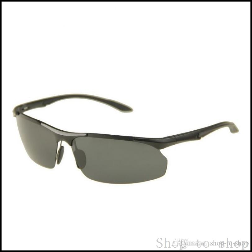 Compre Polarizada Marco Para Hombre Gafas De Sol Sin Montura De ...