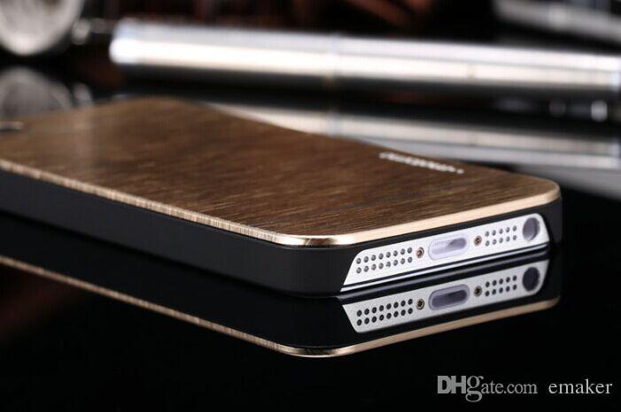 Great Luxury Ультратонкий Motomo Матовый Кисть Алюминий Металлический Шифер Жесткий Задний Чехол Для iPhone 4 4S 5 5S 6 6 плюс Samsung S3 S4 S6 DHL