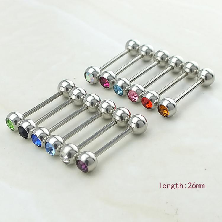 ترويج بيع! حديثا الحلمة أزياء بسيطة 316L الفولاذ المقاوم للصدأ هيئة ثقب المجوهرات