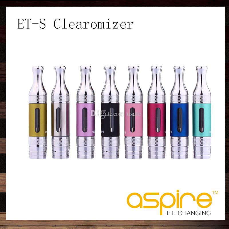 Aspire ETS BVC Clearomizer 3ML ET-S BDC Clearomizer Aspire Electronic Cigarette Tank With BDC BVC Replacement Coil Head
