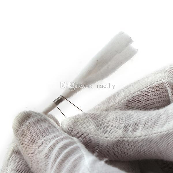 Venta caliente DIY RBA RDA atomizador micro bobina mecha plantilla Ecigarette bobina plantilla para bobina RDA bobina de acero inoxidable plantilla para ajustar bobina de urdimbre