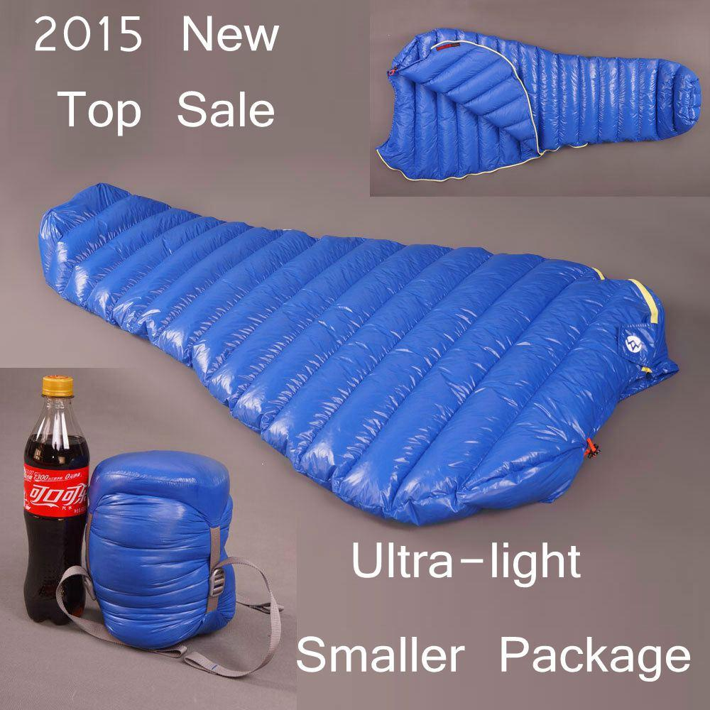 AEGISMAX Blue Wing Ultralight Outdoor Mummy White Goose Down Camping Hiking Sleeping Bag Spring And Autumn Saco De Dormir