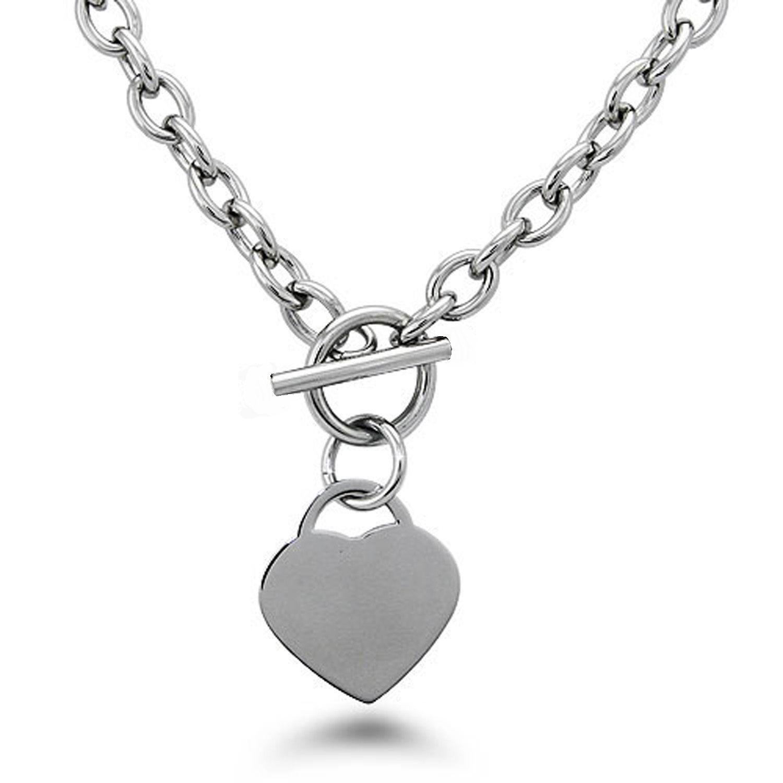 Cool or et argent en option collier en acier inoxydable chaîne collier avec fermoir à bascule bijoux chauds