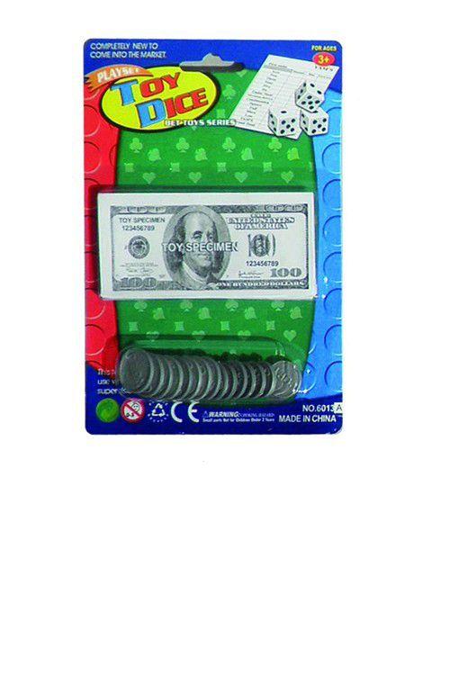 Dollar Jouet Éducation Jouet Jouets D'apprentissage Jouets Bébé Jouets Mode Enfants Enfants Faux Argent Jouer Set Monnaies Notes Livre Livres Plastique Pennies Cadeaux