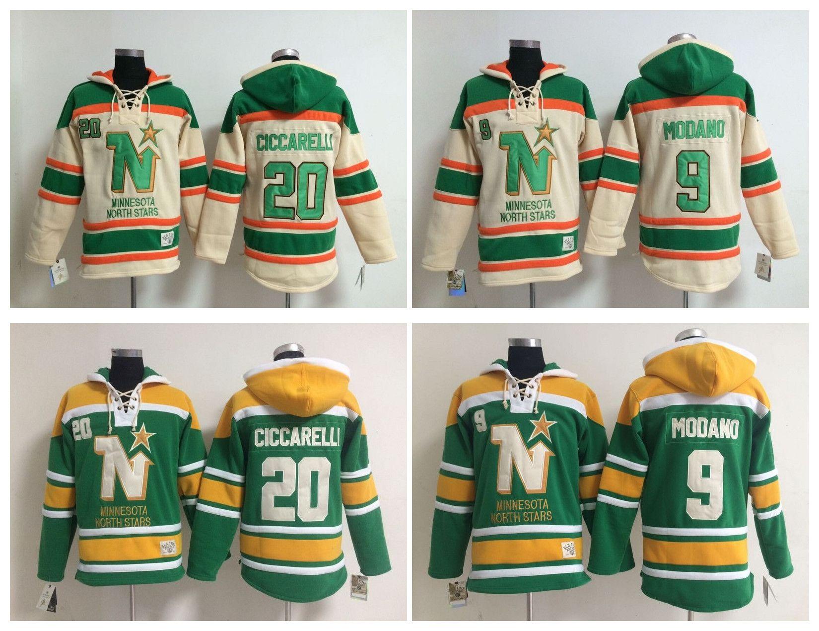 1aef926e366 ... netherlands 2018 north stars old time hockey jerseys mike modano 20 dino  ciccarelli dallas stars hoodie