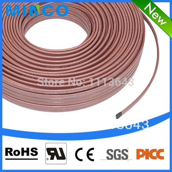pipe wrap tape plastic metal pipe heating cable wrap self regulating heat tape