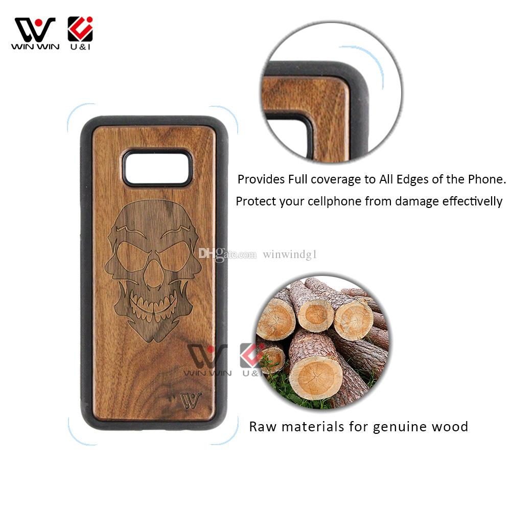 Cherry Wood Cute Cat Case for Samsung Galaxy s8 s8plus plus Rubber Coating Full TPU Protection Cover Animal Pattern Cell Phone Accessories