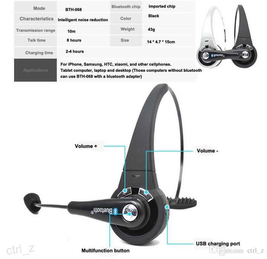 Mono jogo sem fio fone de ouvido bluetooth fones de ouvido fones de ouvido multiponto com mic handsfree para ps3 samsung xiaomi telefone móvel portátil