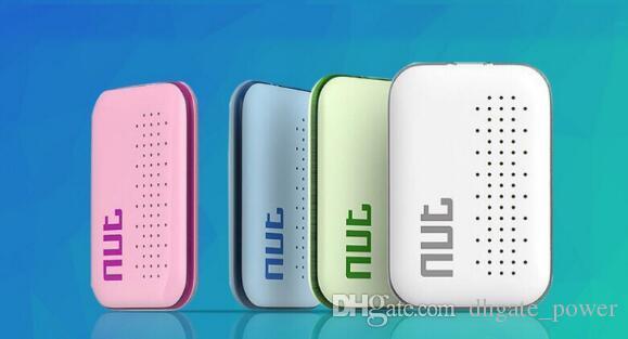 Nut 3 Smart Finder Llave de seguimiento Bluetooth Inalámbrico Nut3 Mini Etiqueta de rastreador para niños Mascotas Sensor clave Alarma Localizador de GPS VS Nut 2 DHL