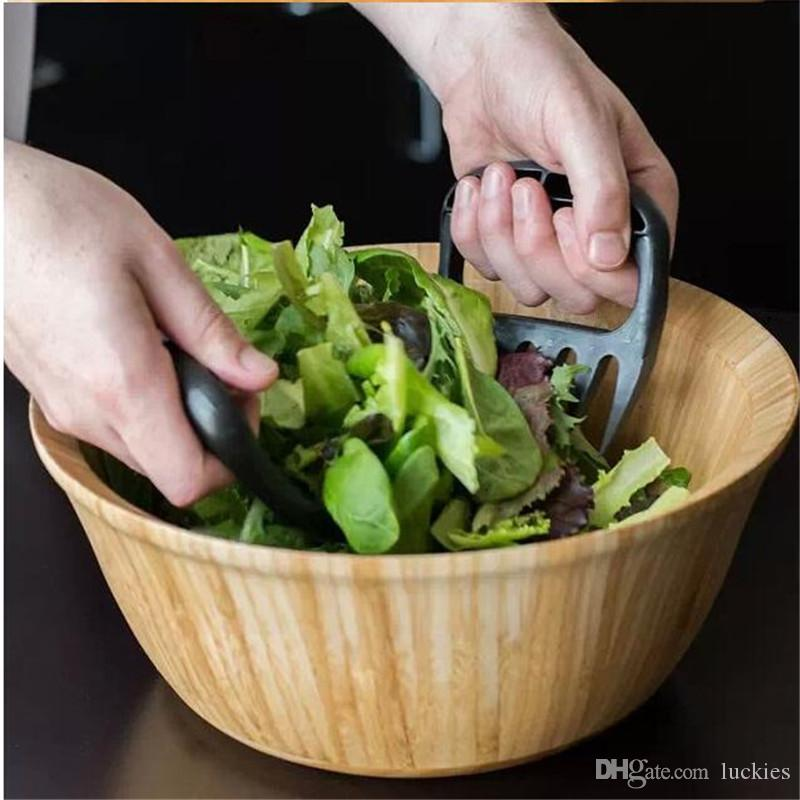 /Bear Paws Claws Useful Meat Handler Fork Tongs Pull Shred Pork Salad Mixer Fruit Vegetable Slicer Cutters BBQ Tools