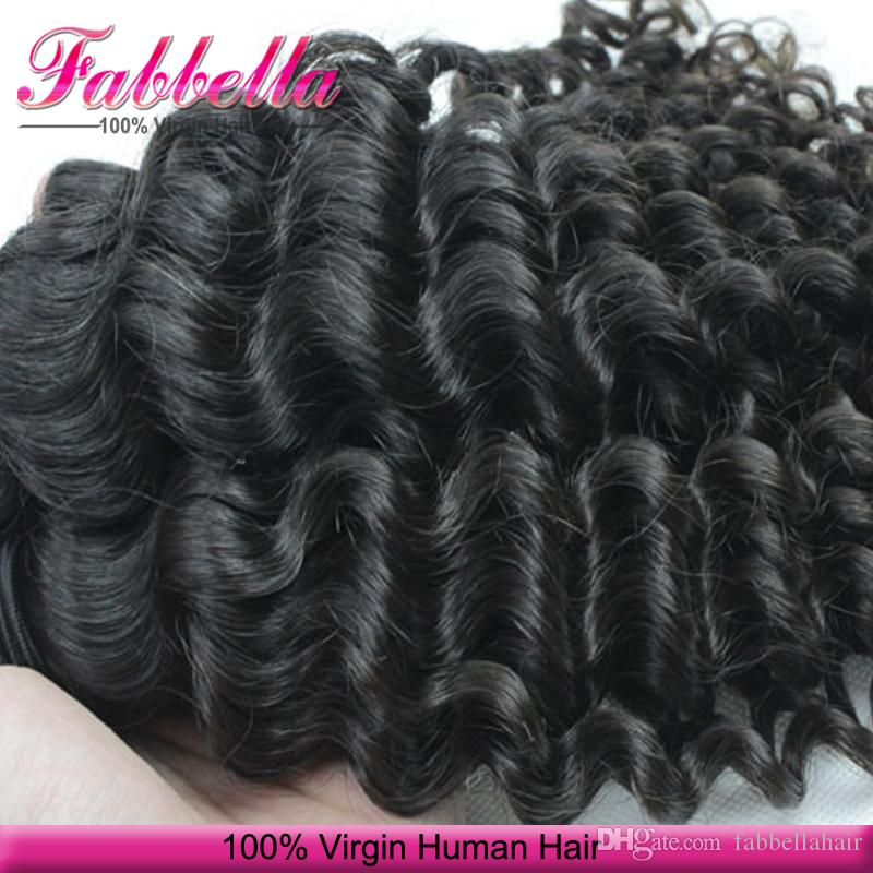 7a Malaysian Virgin Hair Weft Human Hair Curly Weave Hair Extensions