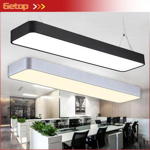 Modern aluminum led chip pendant lights hanging wire strip modern aluminum led chip pendant lights hanging wire strip lighting fixture for office conference room study lamp silverblack glass pendant lights copper mozeypictures Image collections