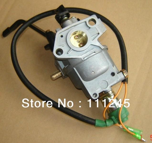 carburetor manual choke valve w solenoid for honda gx270 177f generator free shipping carb 3 5 4kw genset aftermarket parts rh dhgate com Honda GX340 Wiring-Diagram Honda GX390 Parts Diagram