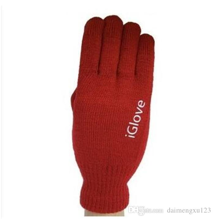 retail bag Multi purpose Unisex iGlove Capacitive Screen Gloves For iPhone 6S iphone 6 HTC ipad iGloves Gloves D540