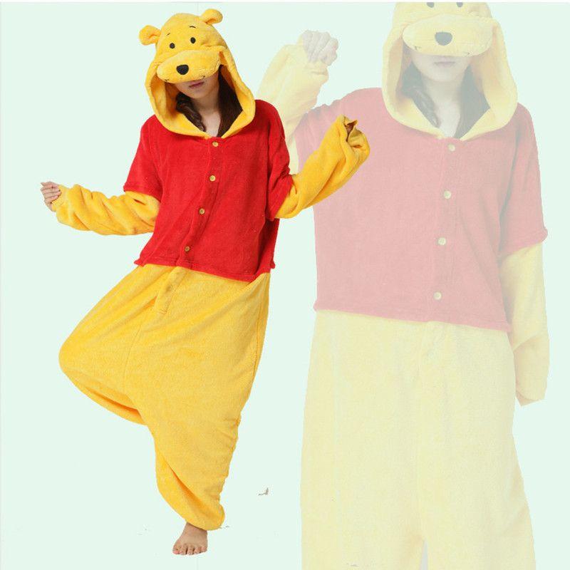 cosplay costume winnie the pooh onesies pajamas kigurumi. Black Bedroom Furniture Sets. Home Design Ideas