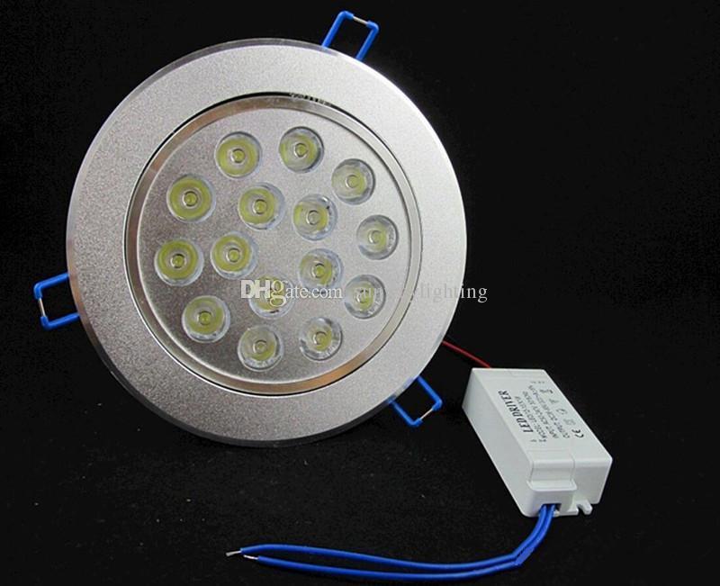 Cree LED Downlight Ceiling 3W 5W 7W 9W 12W 15W 18W Recessed LED light Downlights Dimmable LED down Lights Lamps Warm White 110-240V