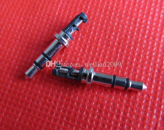 / 1pack Good DIY black 3 Pole 3.5mm Male 90 degree L-shaped stereo headphone Plug Repair Earphones Jack Audio Soldering