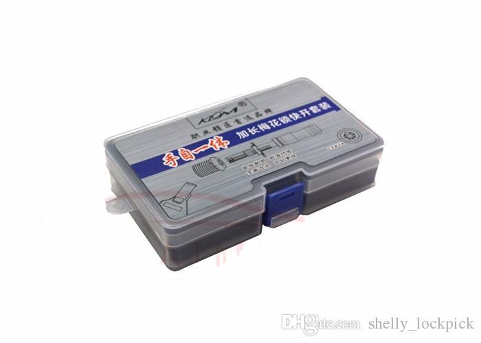 KLOM 7 Pin Advanced Lock Tubular Pick 7.0mm 7.5mm 7.8mm Allungato Door Lock Opener Attrezzi del fabbro