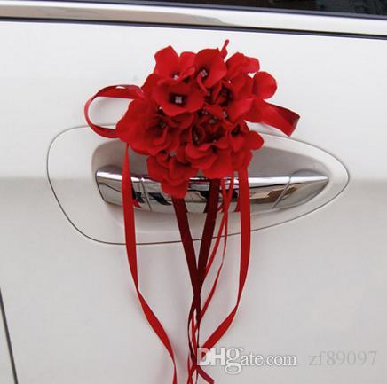 chinesische Hochzeit Auto Dekoration Blume Hochzeit Auto Dekoration Ideen  Hochzeit Dekoration für Auto Blumen