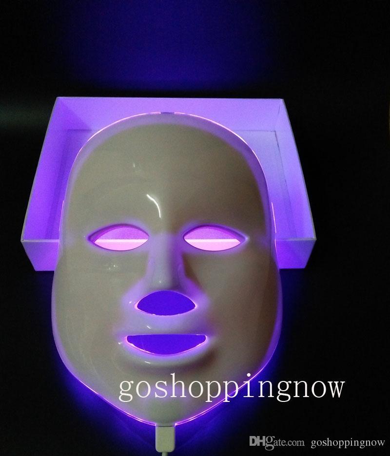 type mis à jour 7 couleurs photon PDT led masque facial soins de la peau bleu vert équipement de thérapie de lumière rouge beauté dispositifs