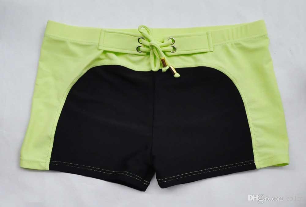 2015 남자의 성격 남성 해변 수영 트렁크 남자 복서 수영 트렁크에 대한 새로운 남성 패션 수영복 섹시한 낮은 상승 허리