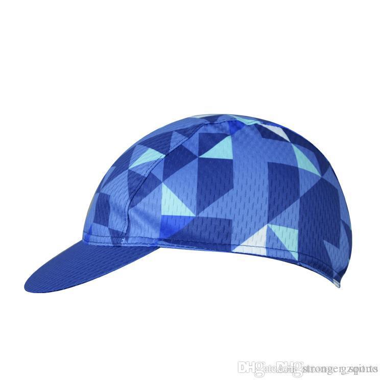 Aogda Blue New Professional Team Cycling Bike Head Cap Hat Quick ... 7b714e84df7
