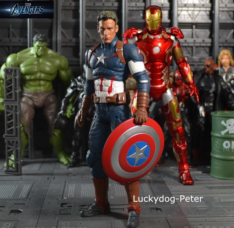 Civil Protection Toys : Captain america action figure the avengers