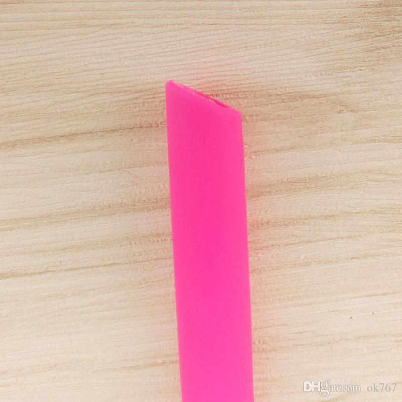 Caldo ! Paglia colorata del silicone del commestibile la cannuccia del gel di silice della tazza 30oz con trasporto libero della spazzola
