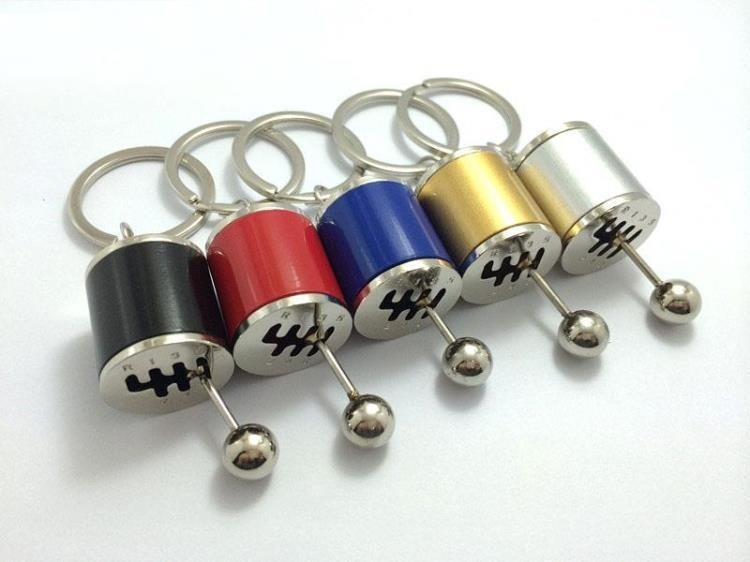 Keychain Ring Fob Creative Car 6Speed Gearbox Gear Shift Racing Tuning G7 Puppen & Zubehör