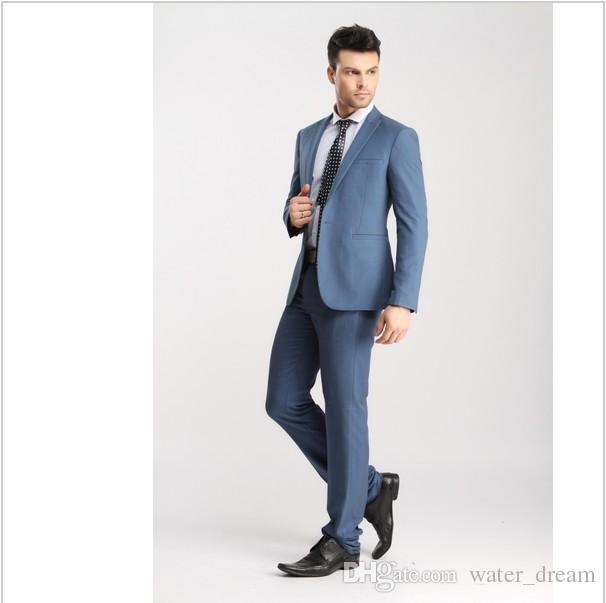 204834b16084f le marié convient Hommes formelles Costumes Tuxedo moderne pour homme  Mariage Costumes Slim Fit Set Coat ...