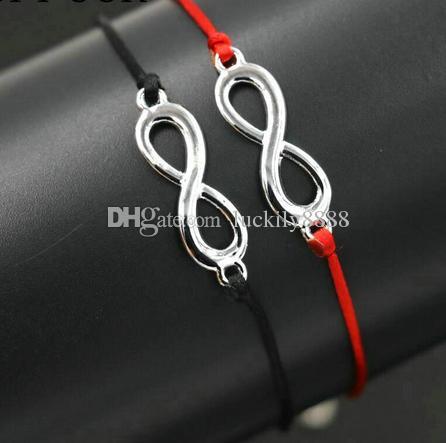 8 Infinity Braid Bracelets Braided Rope Lucky Jewelry Red Bracelet