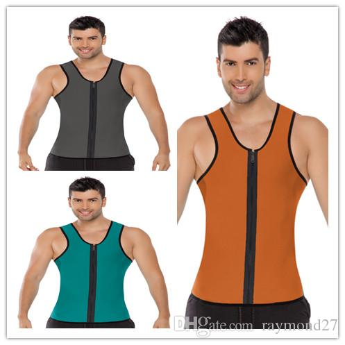 514074aabc88a 2019 2015 Hot Men S Body Shaper Weight Loss Workout Exercise Sport Neoprene  Vest Sauna Tank Top Waist Trainer Gym Slimming Waist Training Corsets From  ...