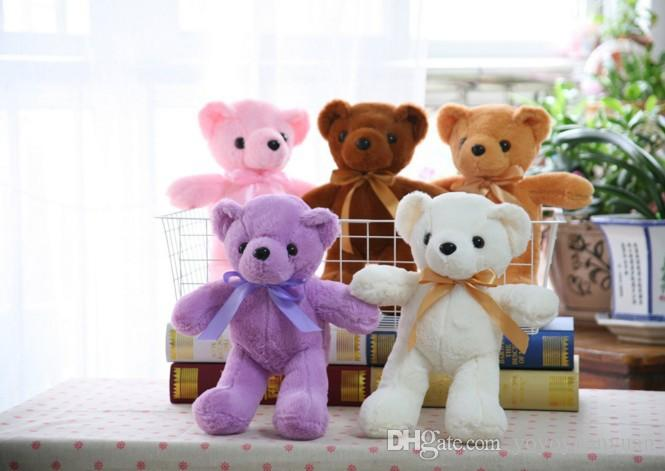 2017 35cm plush toy girl cuddly teddy bear doll's small children's birthday present cute south Korean plush