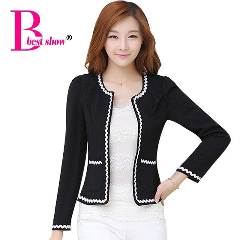 Ladies Short Jacket Woman Clothes Autumn 2015 New Arrival Korean ...