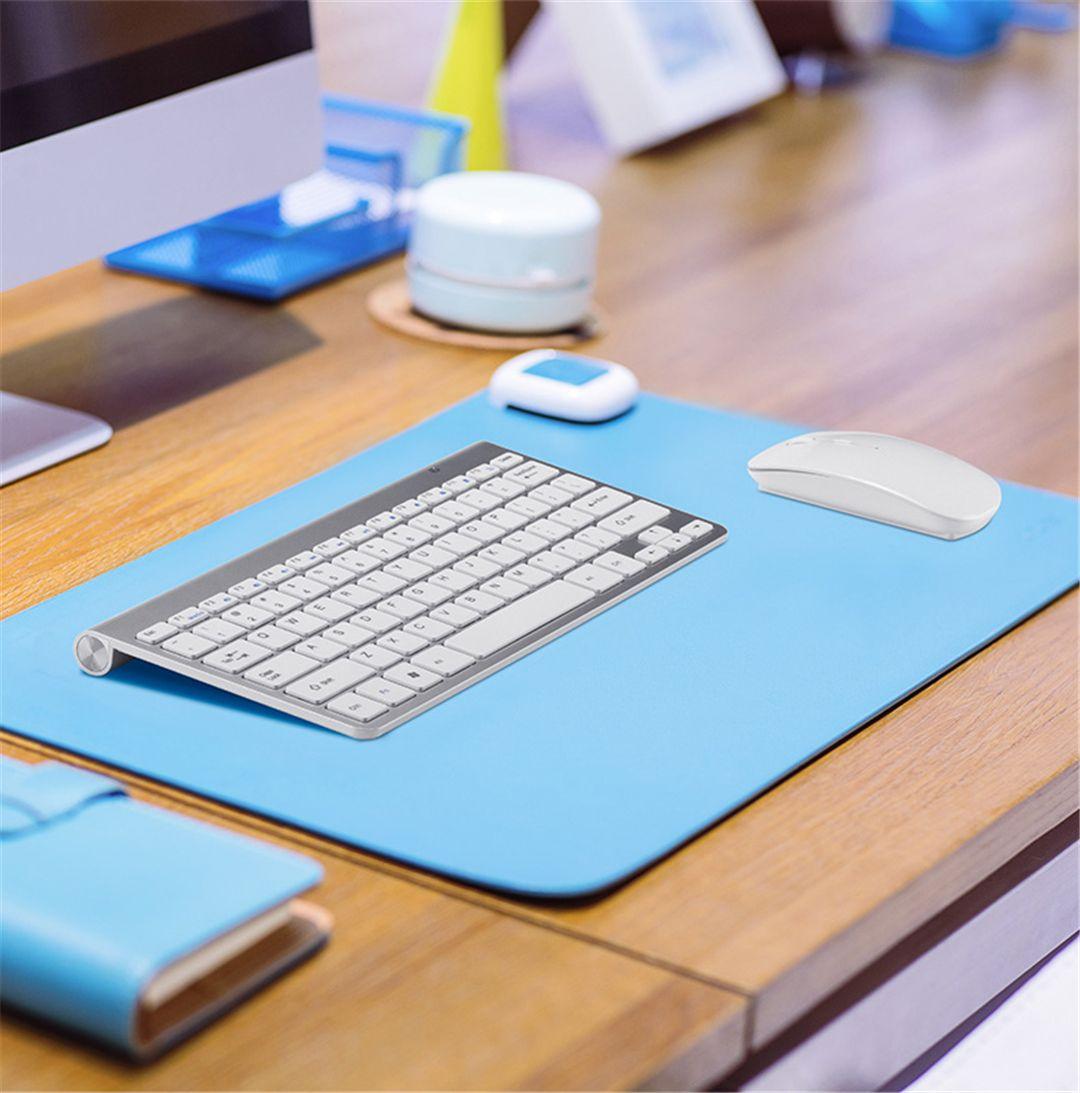 Wireless Keyboard Mouse Combo 2.4G Keyboard Ultra-Thin Wireless Mouse for Apple Keyboard Style Mac Win 7/8/10 Tv Box