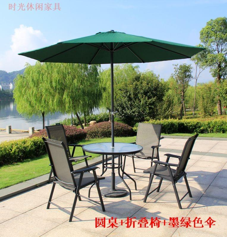Captivating 2018 Folding Manager Lin Eat Desk And Chair Umbrella Outdoor Leisure Outdoor  Garden Terrace Garden Furniture Furniture Suite From Jiangdu, $882.42 |  Dhgate.