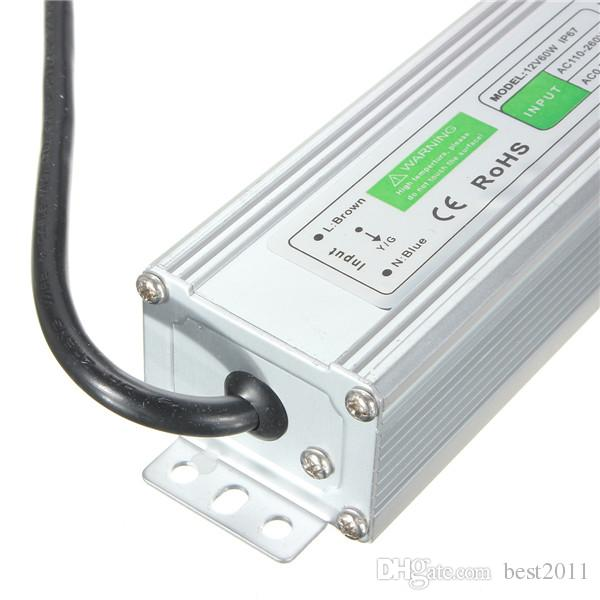 Cheapest Price DC 12V 60W IP67 Waterproof Electronic LED Driver outdoor use power supply led strip transformers adapter