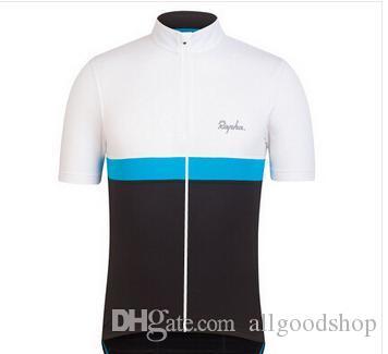 2016 Cheep Rapha BikeCycling Kısa Kollu Yaz Bisiklet Gömlek Bisiklet Giyim Bisiklet Giymek Rahat Anti UV Sıcak Yeni Rapha Formalar