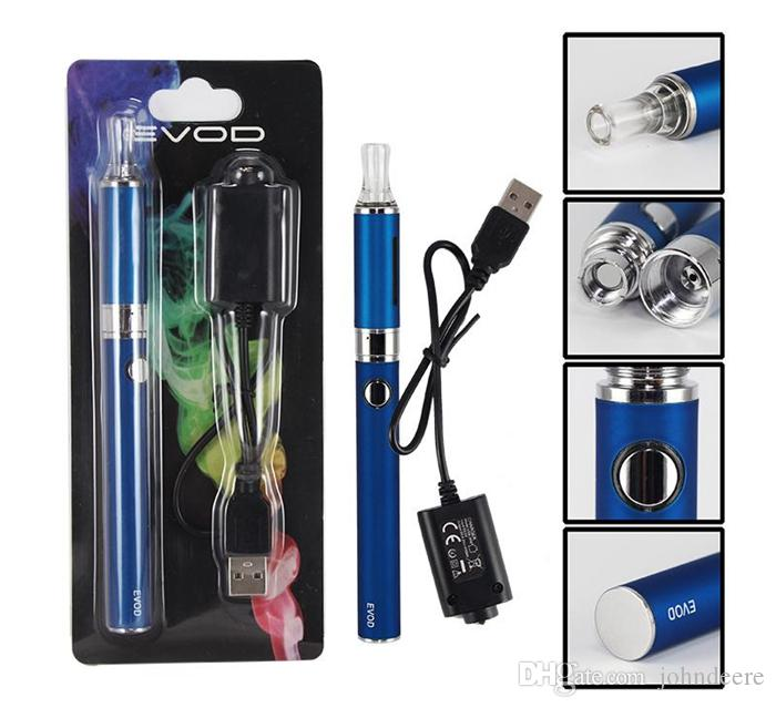 MT3 EVOD Blister pack kit eGo starter kits e cigs cigarettes 650mah 900mah 1100mah battery MT3 atomizer CE4