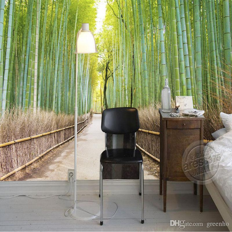 bamboo forest wallpaper natural scenery photo wallpaper custom 3d