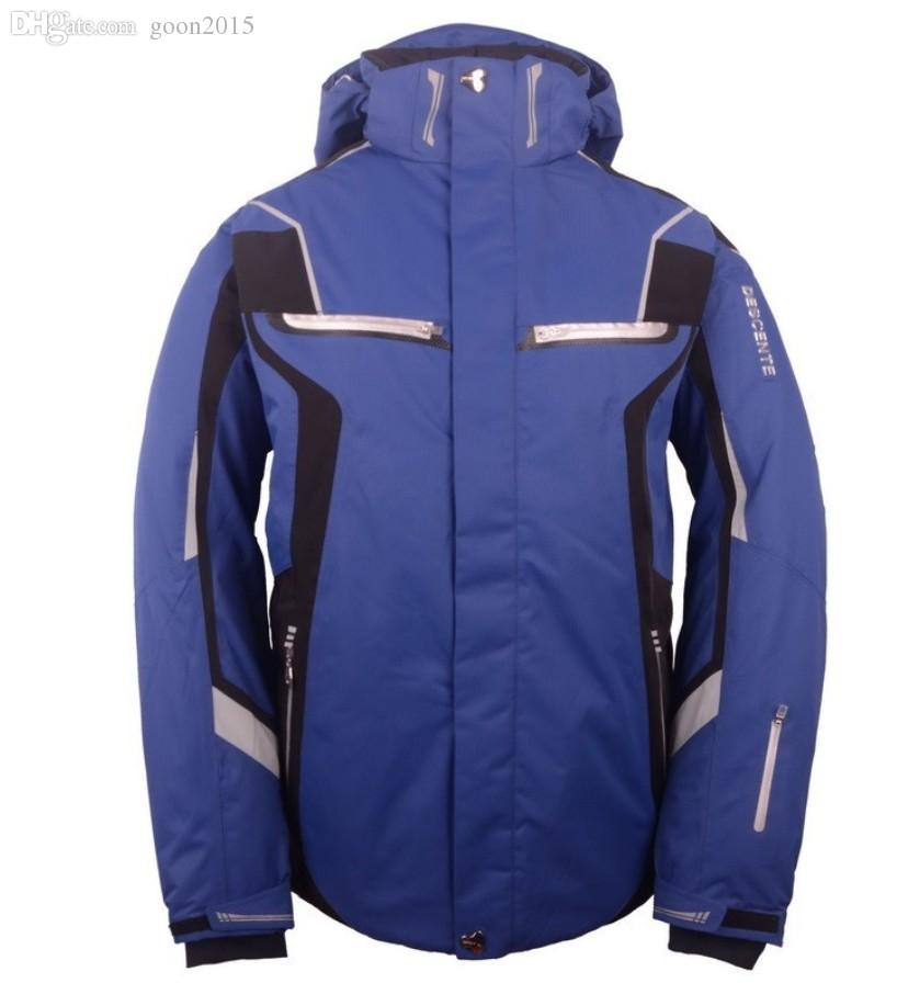 best wholesale descente snowboard snow anorak jacket men arctic parka winter outdoor waterproof. Black Bedroom Furniture Sets. Home Design Ideas