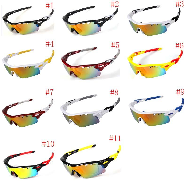 Outdoor Polarized Cycling Sunglasses 5 Lens Unisex Windproof Bike Goggles UV400