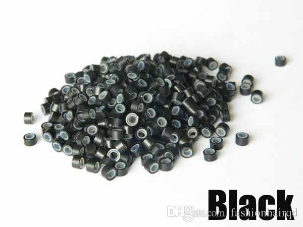 Silicone Micor Beads Nano Ring For Hair Extensions Tools Options 5.0mm*3.0mm*3.0mm