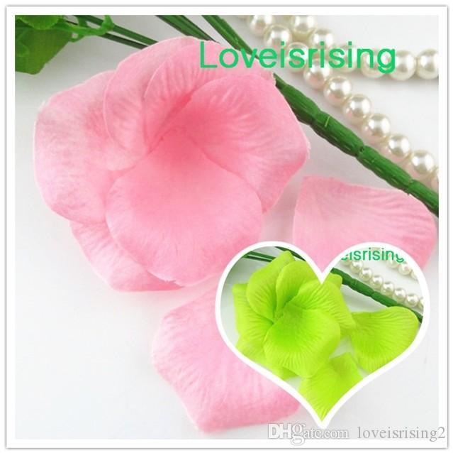 100pcs Fake Beautiful Non-Woven Fabrics Wedding Decor Bridal DIY Flowers Petals