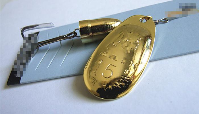 금속 낚시 미끼 스피너 미끼 후크 VIB 블레이드 3 컬러베이스 잉어 낚시 미끼 1 # 1 # 2 # 3 # 4 # 5 # 6 #