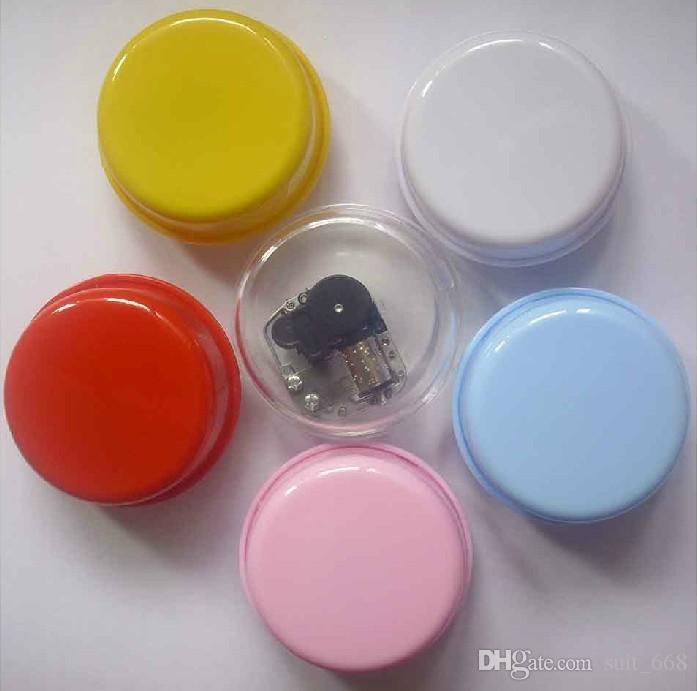 Lightweight paper clay plasticine creative handmade diy accessories rotating music box music box wholesale clay base